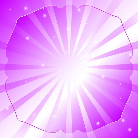 radial: Radial vector background retro