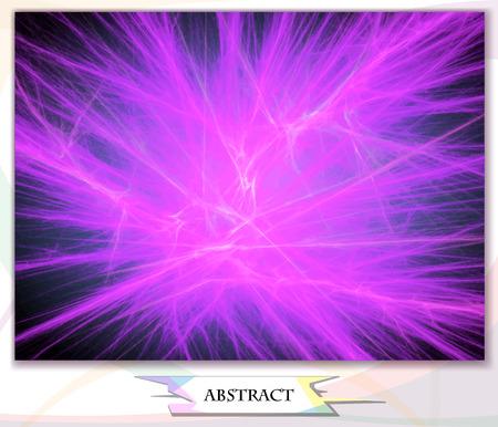 abstract background lightning, vector illustration Illustration