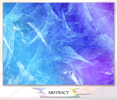 frost: abstract background marble, frost patterns, vector illustration Illustration