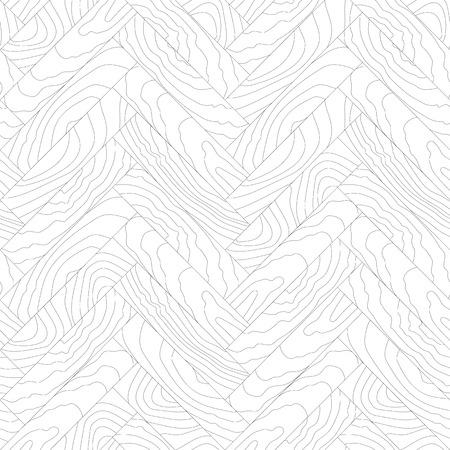 parquet, wooden textures, design elements, vector illustration Illustration