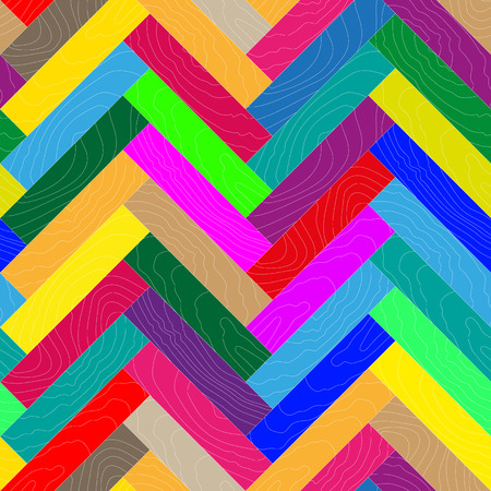 parquet: parquet, wooden textures, design elements, vector illustration Illustration