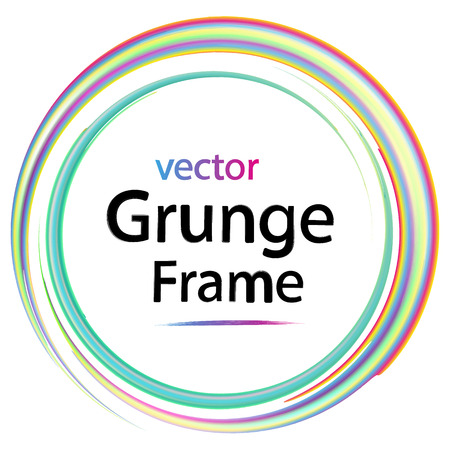 business backgound: grunge frame