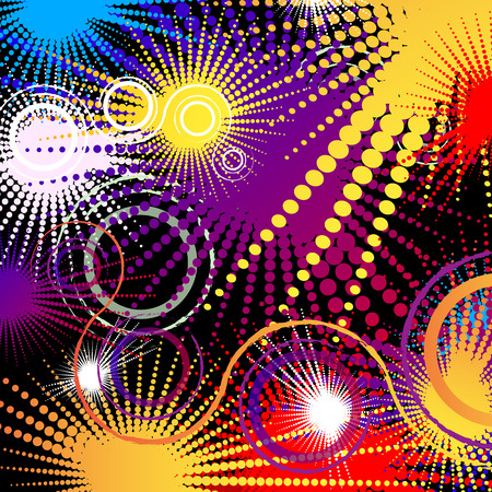 bright: abstract bright background
