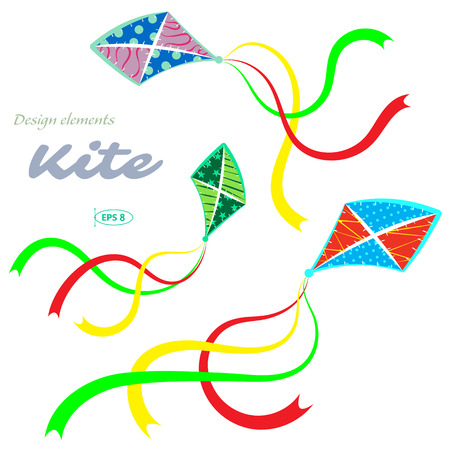 kite: Kites, vector illustration