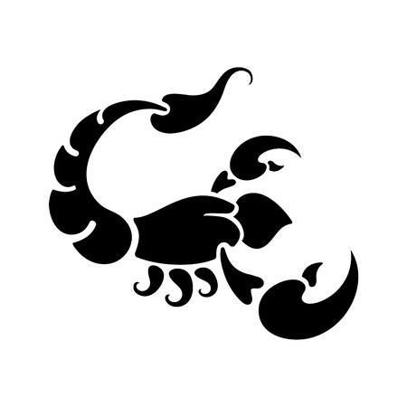 forecasts: zodiac sign Scorpio, vector illustration Illustration