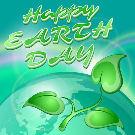 earth day: Earth day, vector illustration Illustration