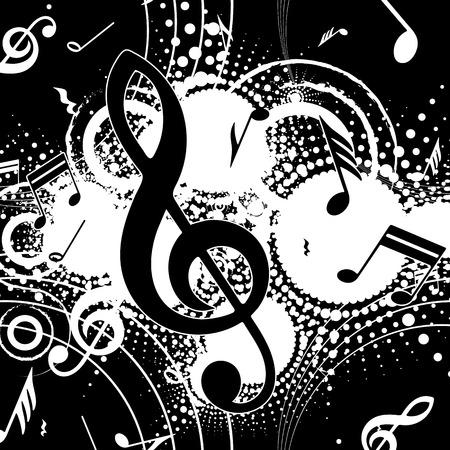 music background: background music, abstraction Stock Photo