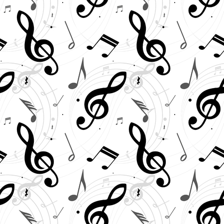 backing: Music note seamless