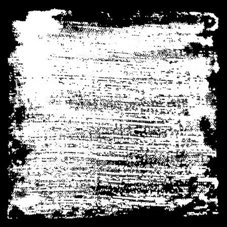 grunge banner: Black and white grunge background, watercolor banner, vector illustration