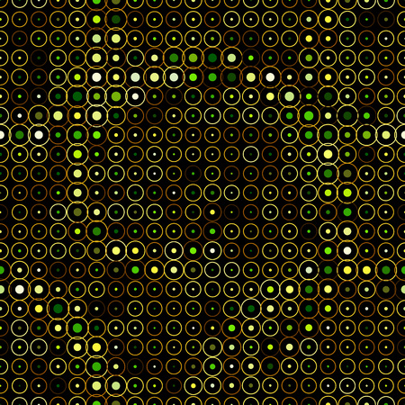 Halftone abstract seamless background, vector illustration