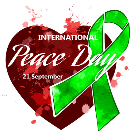 International day of peace.  イラスト・ベクター素材