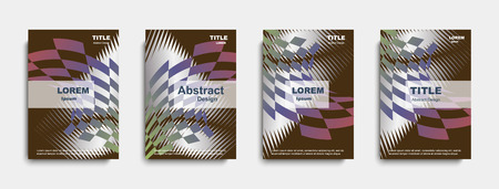 Abstract cover design. banners. vector illustration