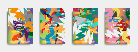 Abstract cover design. banners. vector illustration 写真素材 - 105231789
