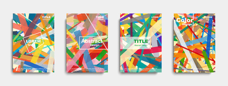 Abstract cover design. banners. vector illustration 写真素材 - 105231797