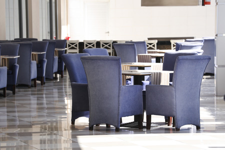 Emty Chairs in a Restaurant