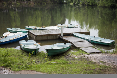 shore: boats on the shore