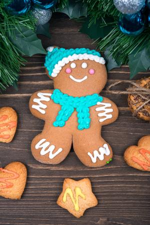 gingerbread cookies: Gingerbread, cookies, Christmas balls