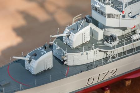 RC scale model ship at competitions, World Championships class NS NAVIGA 2017, Orneta, Poland. Sajtókép