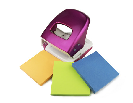 hole punch: Hole punch and stickers