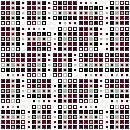 Random ordered squares Illustration