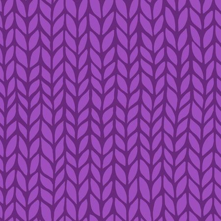 Seamless knit pattern. Vector illustration