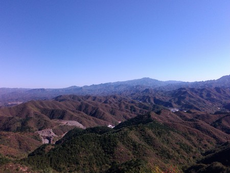 hebei: Chengde city, Hebei province, Jinshanling great wall