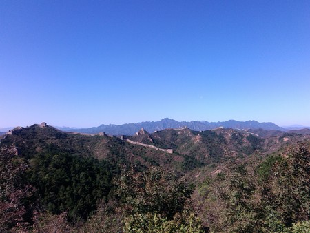 hebei province: Chengde city, Hebei province, Jinshanling great wall