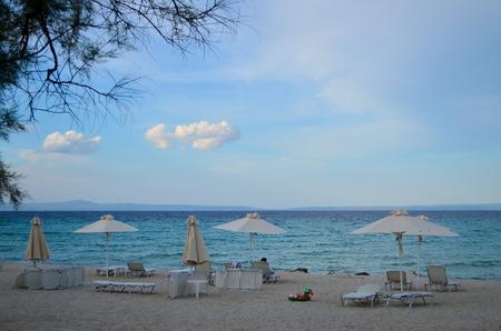 Sea view in Kassandra, Greece