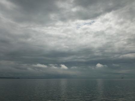 overcast: Overcast sea