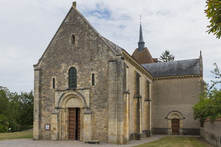 theology: Church of Saint Parize le Chatel
