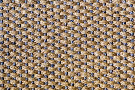 carpeting: Floor, carpet of sisal in blue and brown, background.