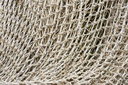 floaters: White fishing net.