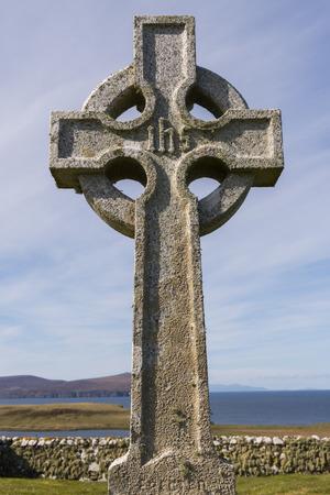 skye: House on Trumpan on the Isle of Skye in Scotland.