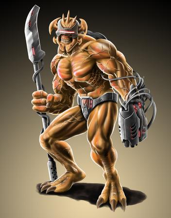 mutant: mutant Stock Photo