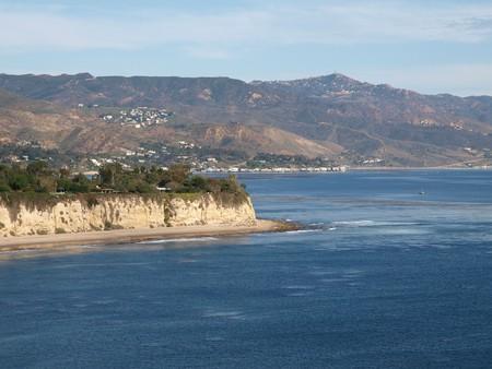 The beautiful Malibu Coast in Southern California Stock Photo - 4295223