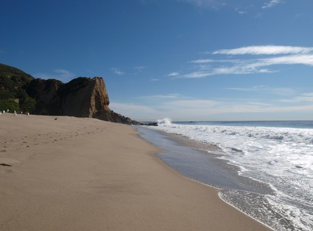 Westward beach in Southern California where many movies are filmed Stock Photo - 4331070