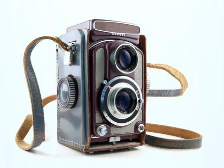 viewfinder vintage: A vintage viewfinder camera in pristine condition.