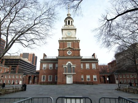 Historic Independence Hall National Park in Philadelphia Stock Photo - 4933272