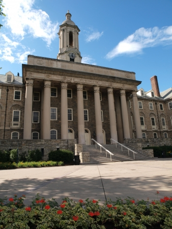 Old Main building at Penn State University photo