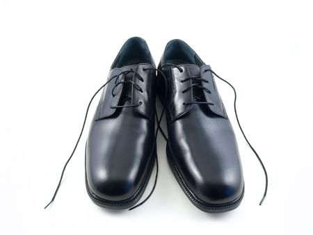 New dress shoes with a white background. Stock Photo - 5300015