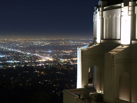 owned: Griffith Park Observatory, famous Los Angeles city owned landmark.