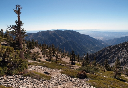 mt: Mt. Baldy view in Los Angeles County California