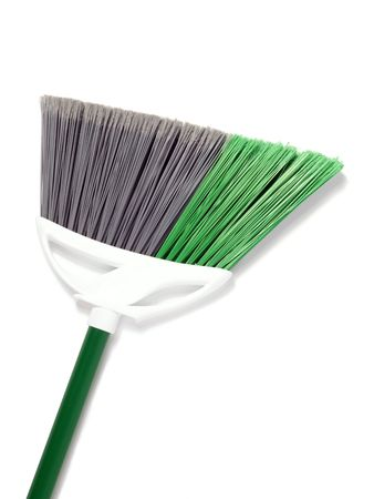 New broom on white with soft shadow. Stock Photo - 6290732