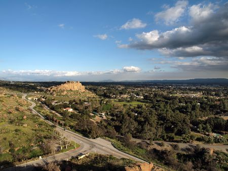 stoney point: Chatsworth California, the northwest corner of the City of Los Angeles. Stock Photo