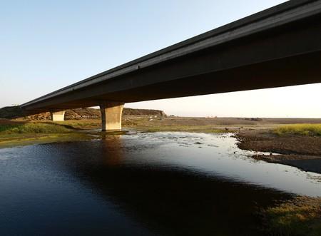 Pacific Coast Highway bridge and San Simeon Wetlands in central California. Stock Photo - 7002771