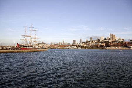 Historic San Francisco bay on a sunny summer afternoon. Stock Photo - 7154770