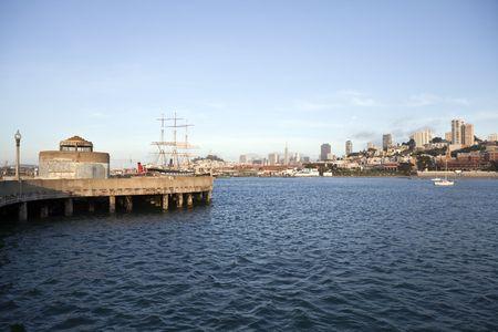Sunny afternoon at San Francisco National Historic Maritime Park. Stock Photo - 7154790