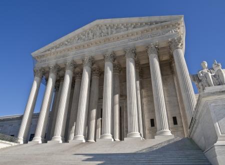 Der Oberste Gerichtshof Gebäude in Washington DC.