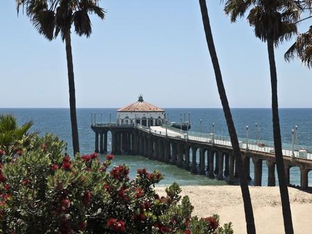 southern california: Manhattan Beach in sunny Southern California.