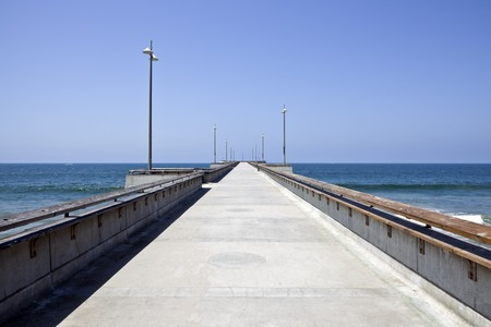 Venice Pier owned by the City of Los Angeles in southern California. Stock Photo - 7392418